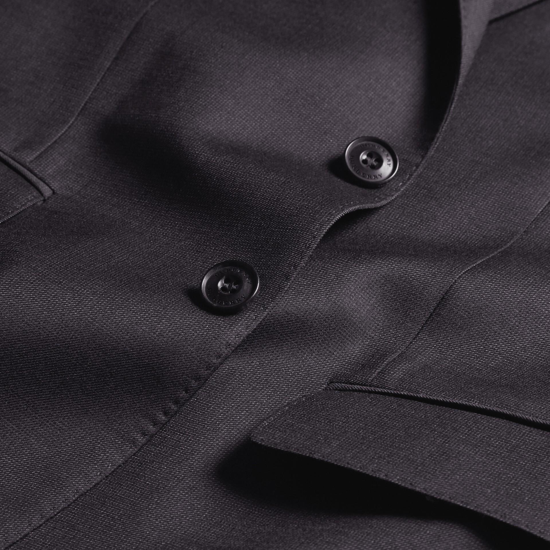 Slim Fit Travel Tailoring Wool Suit - gallery image 2