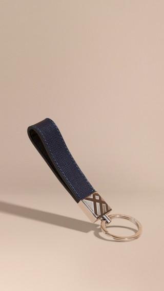 London Leather Key Ring