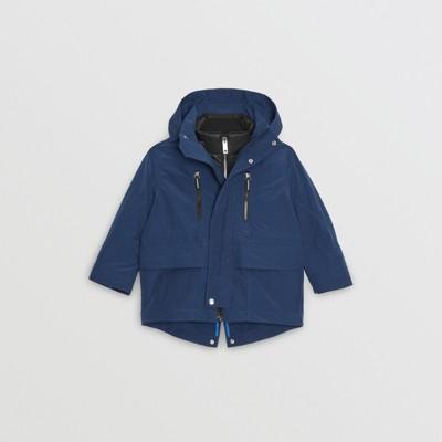 Burberry - Parka à capuche avec veste matelassée en duvet - 1