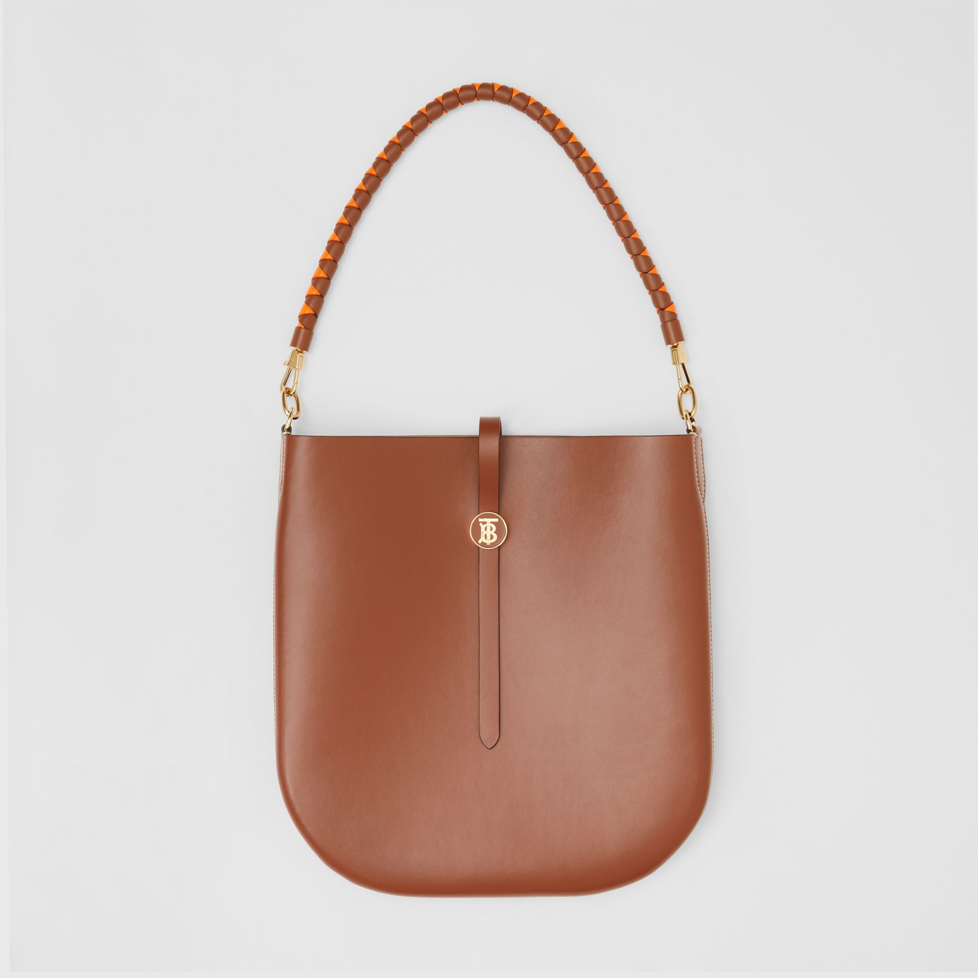Leather Anne Bag in Tan - Women | Burberry Australia - gallery image 3