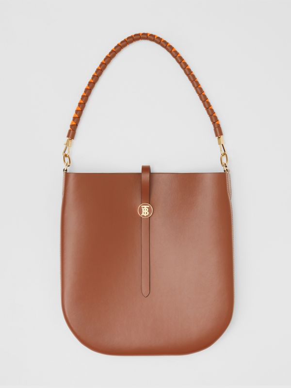 Leather Anne Bag in Tan - Women | Burberry Australia - cell image 3