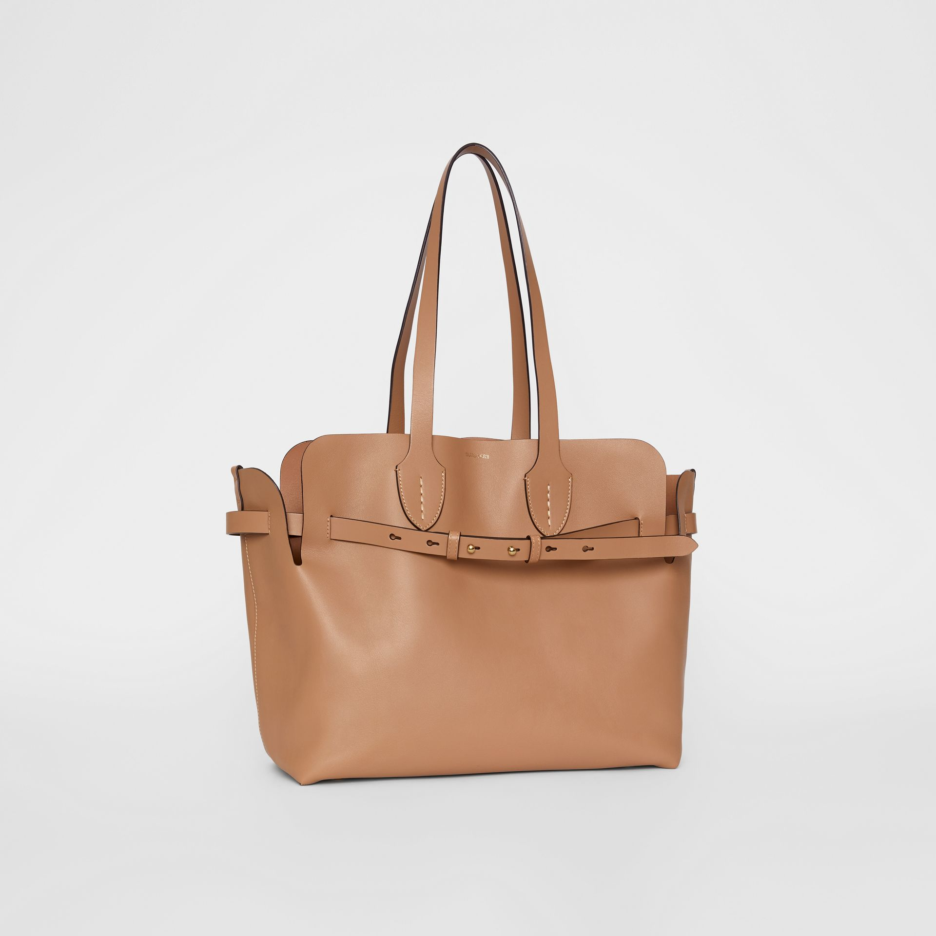 Sac The Belt moyen en cuir doux (Camel Clair) - Femme | Burberry - photo de la galerie 6