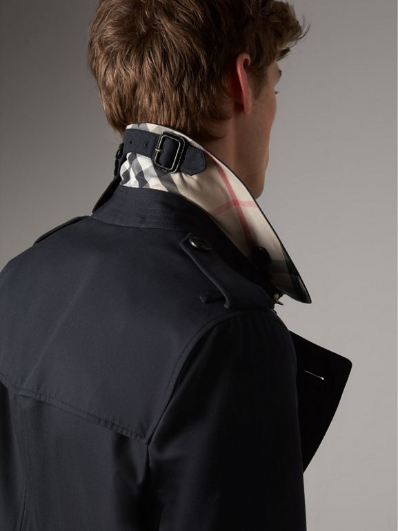 The Sandringham – Mid-length Trench Coat in Navy - Men | Burberry - cell image 1