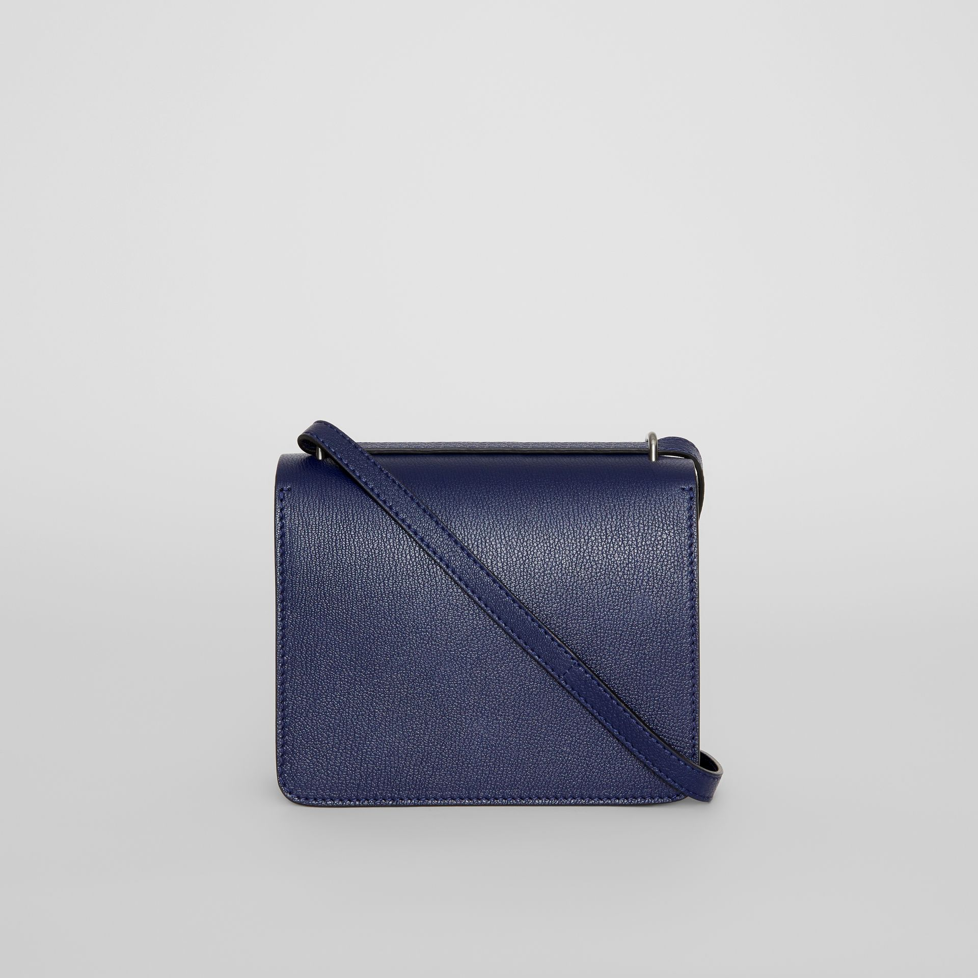 The Small Leather D-ring Bag in Regency Blue - Women | Burberry United Kingdom - gallery image 7
