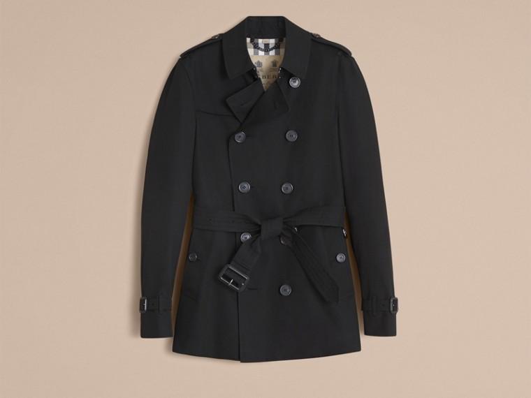 Negro Trench coat Chelsea – Trench coat Heritage corto Negro - cell image 4