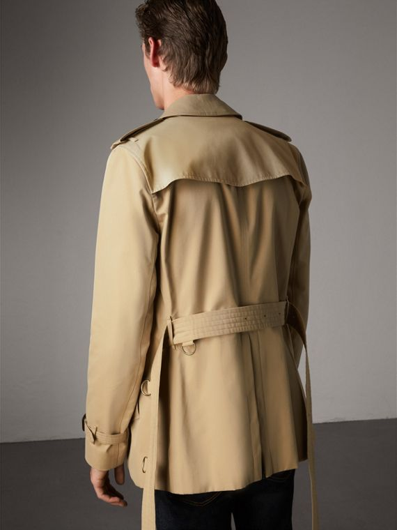 The Sandringham – Short Trench Coat in Honey - Men | Burberry - cell image 2