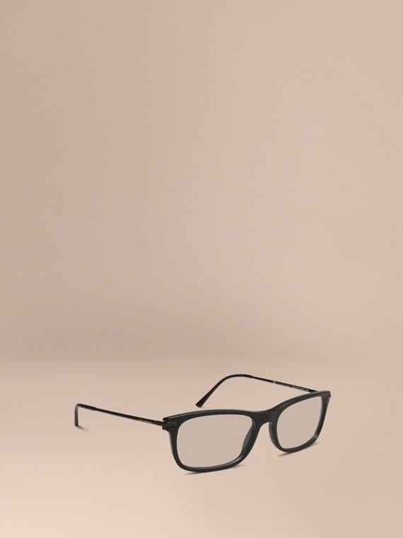 Square Optical Frames Black