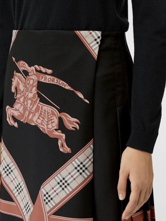 典藏圍巾印花蘇格蘭裙 (多色) - 女款 | Burberry - cell image 1