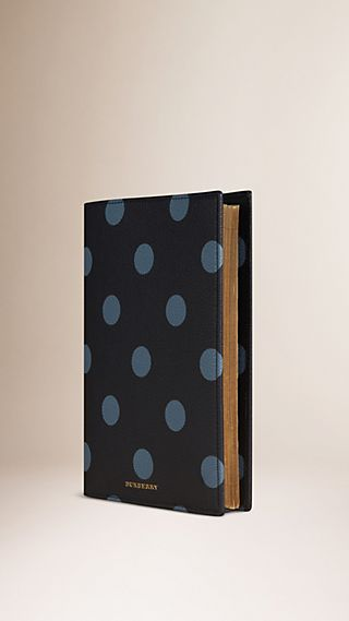Polka Dot Grainy Leather 2016 A5 Diary