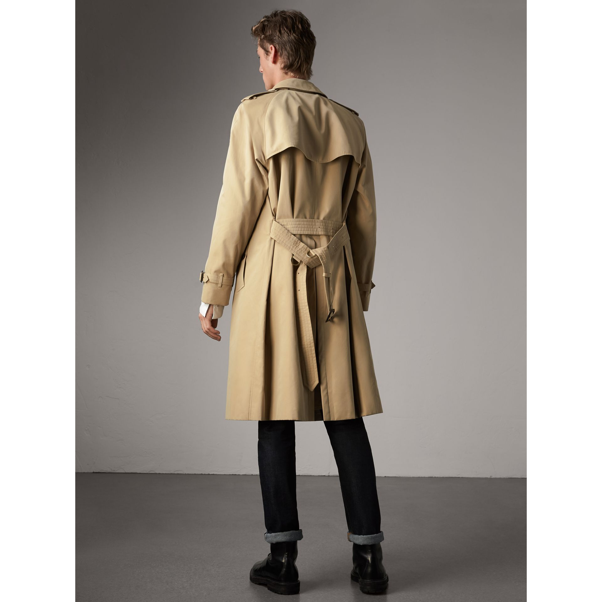 The Westminster – Extra-long Trench Coat in Honey - Men | Burberry United States - gallery image 2