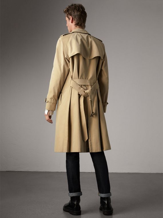 The Westminster – Extra-long Heritage Trench Coat in Honey - Men | Burberry Hong Kong - cell image 2