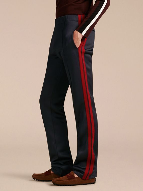 Contrast Stripe Technical Track Pants
