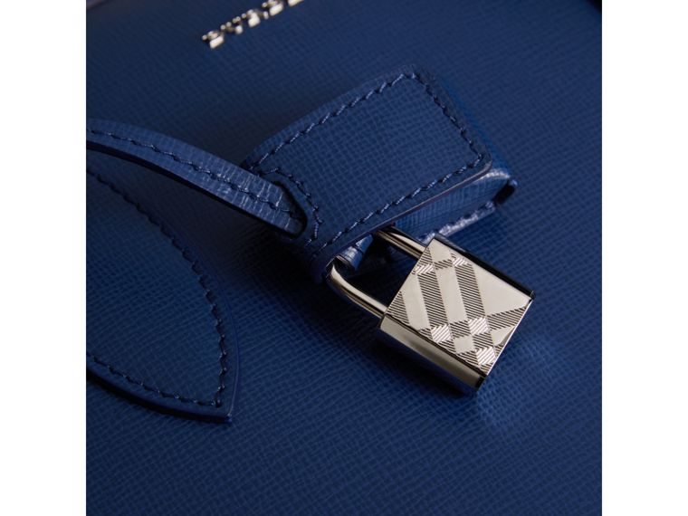 Attaché-case en cuir London (Bleu Profond) - Homme | Burberry - cell image 1