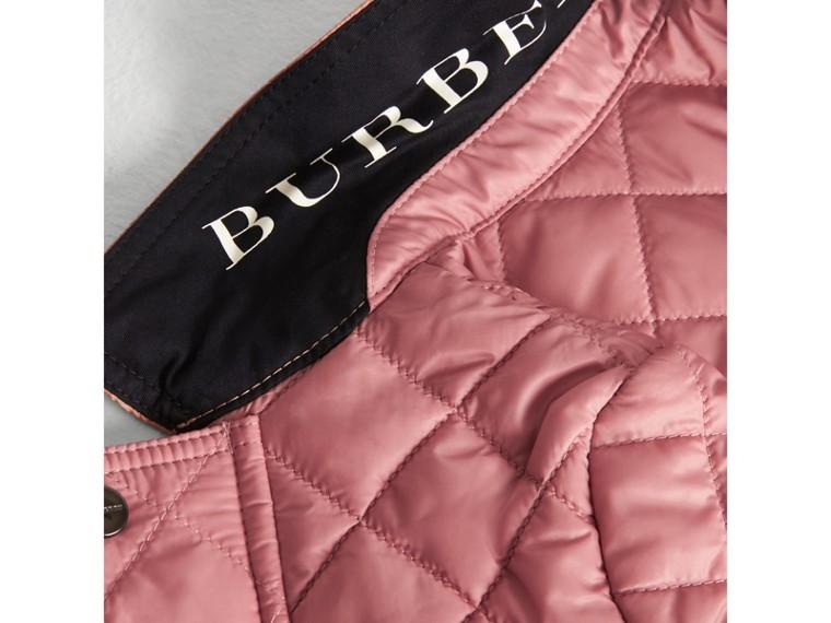 Veste légère matelassée avec capuche amovible (Rose Platiné Pâle) | Burberry Canada - cell image 1