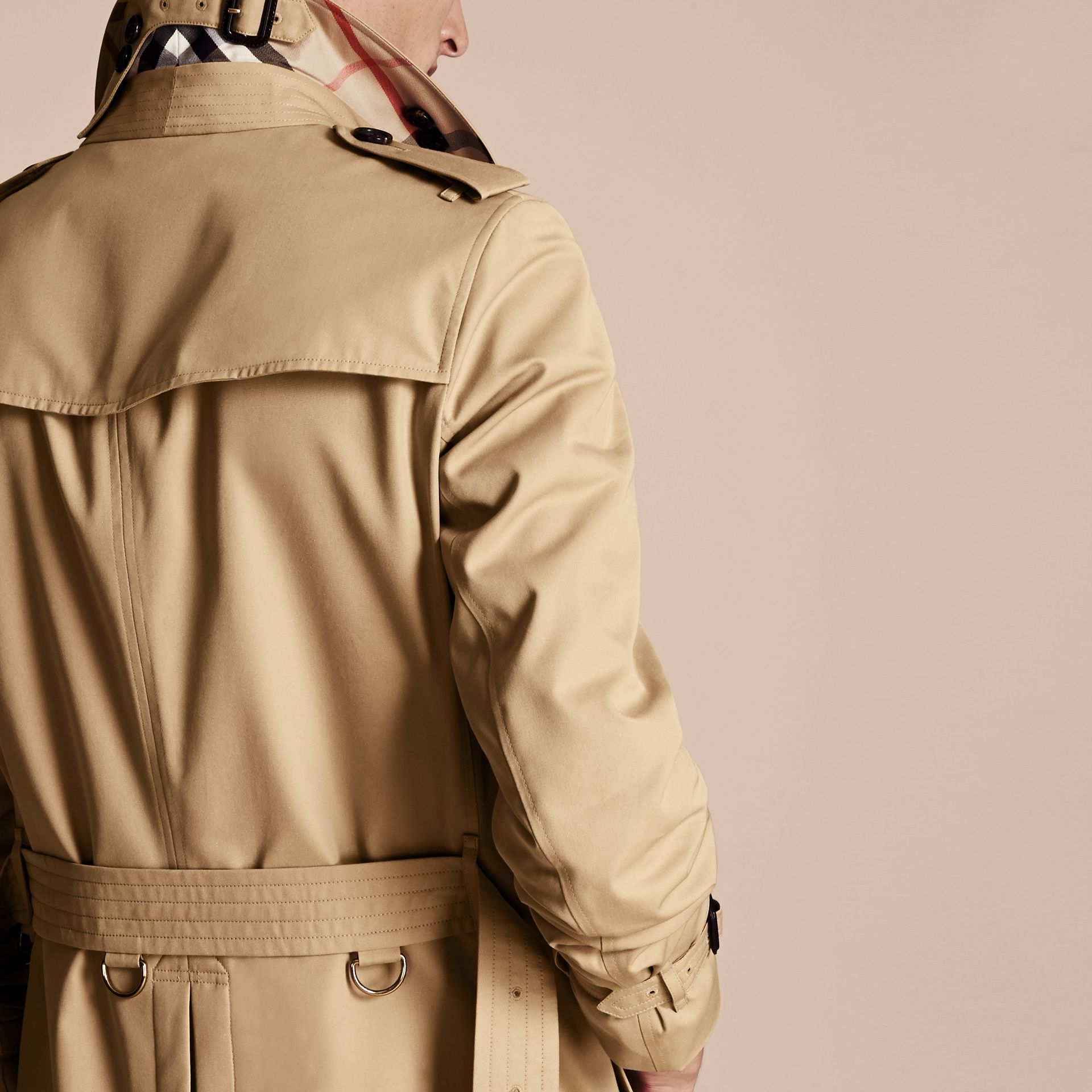 Miel Trench-coat Heritage long The Chelsea Miel - photo de la galerie 6