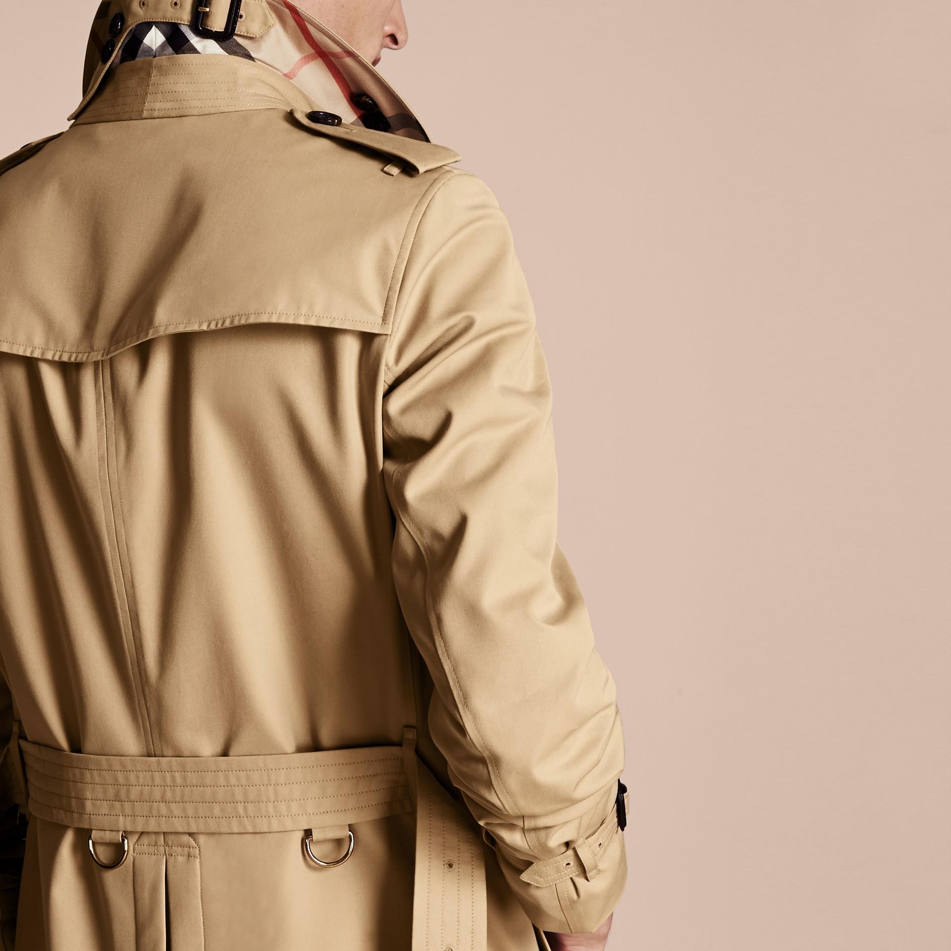 Miele The Chelsea - Trench coat Heritage lungo Miele - immagine della galleria 6