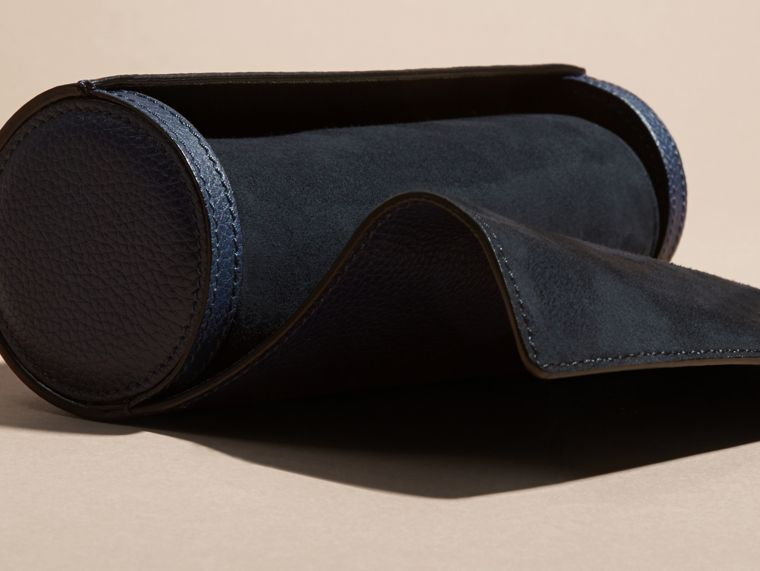 Bright navy Grainy Leather Watch Case Bright Navy - cell image 4
