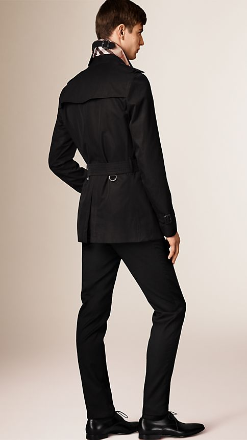 Honey The Sandringham - Short Heritage Trench Coat - Image 2