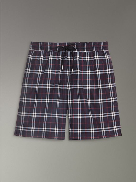 Drawcord Swim Shorts in Navy - Men | Burberry Canada - cell image 3