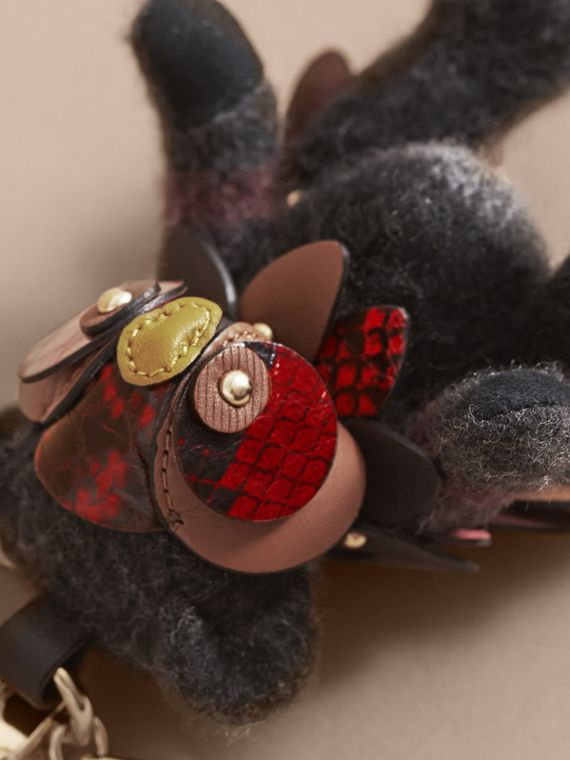 Thomas Bear in Check Cashmere with Beasts Detail - Men | Burberry - cell image 3