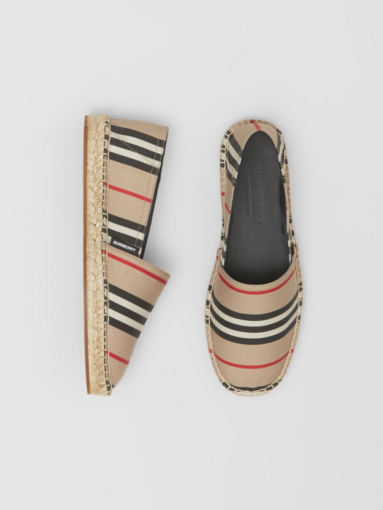 Icon Stripe Espadrilles (Archive Beige)