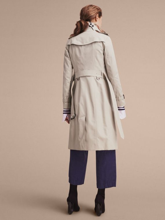 The Sandringham – Extra-long Heritage Trench Coat in Stone - cell image 2