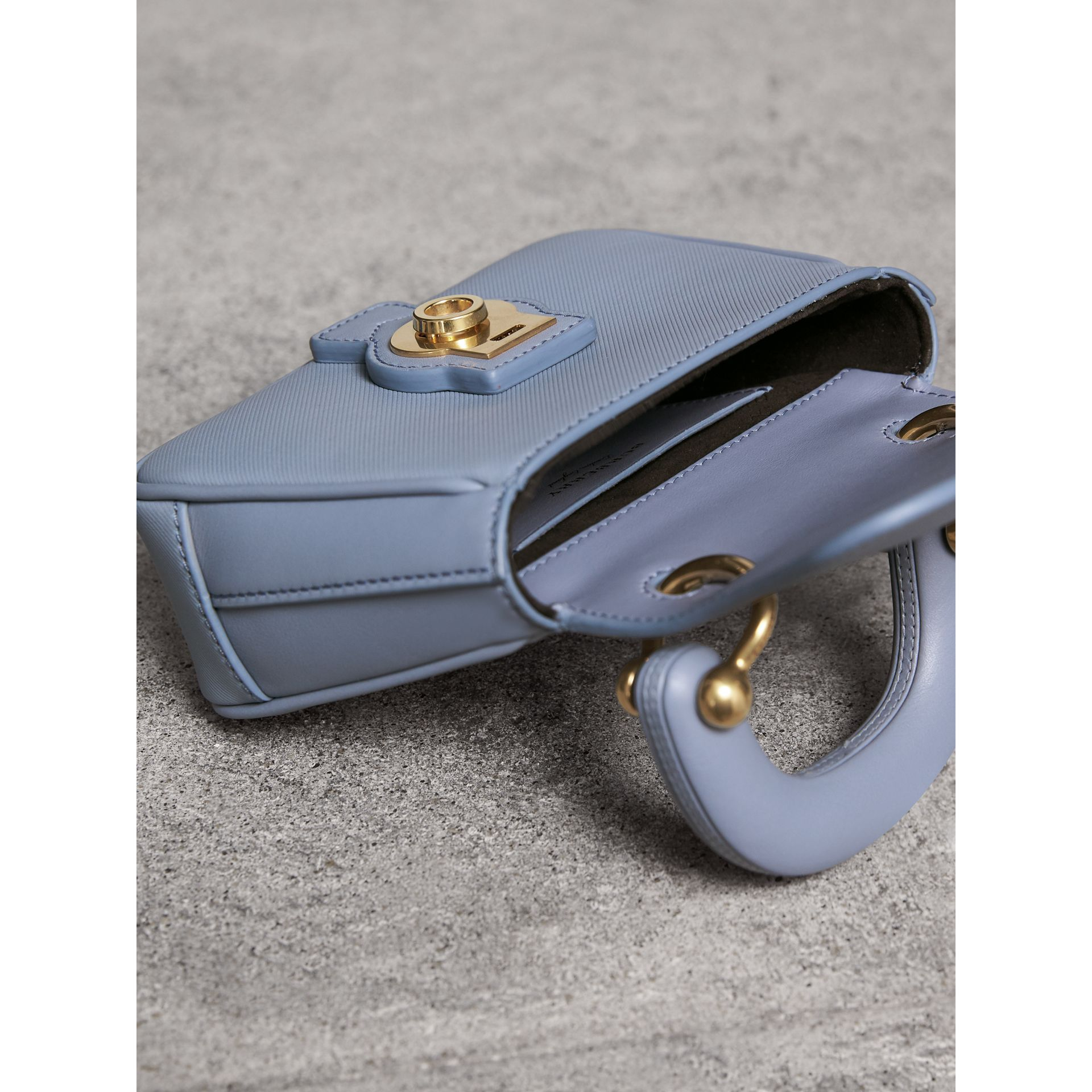 The Mini DK88 Top Handle Bag in Slate Blue - Women | Burberry - gallery image 5
