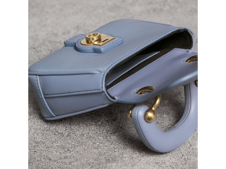 The Mini DK88 Top Handle Bag in Slate Blue - Women | Burberry - cell image 4