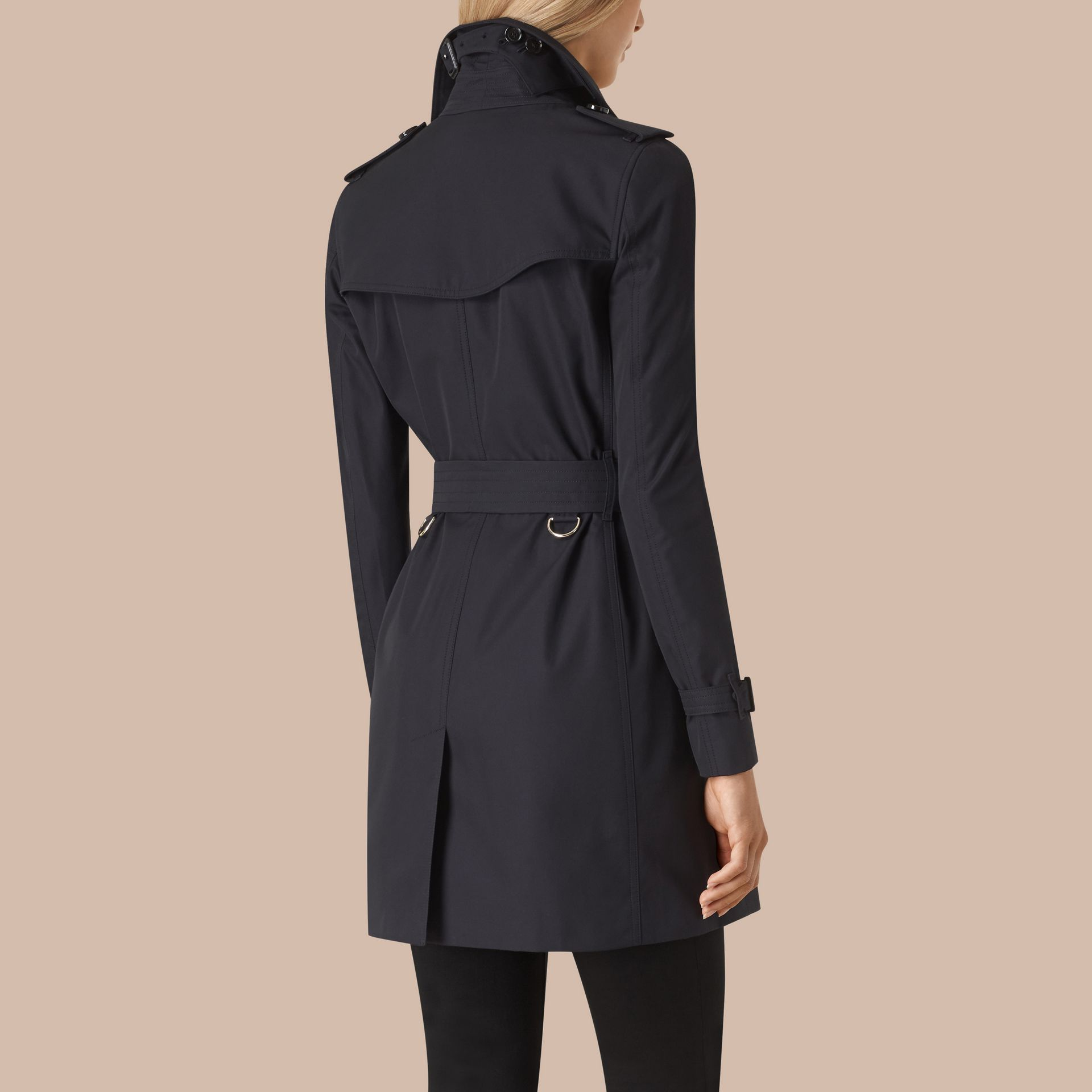 Marine Trench-coat en gabardine de coton - photo de la galerie 4
