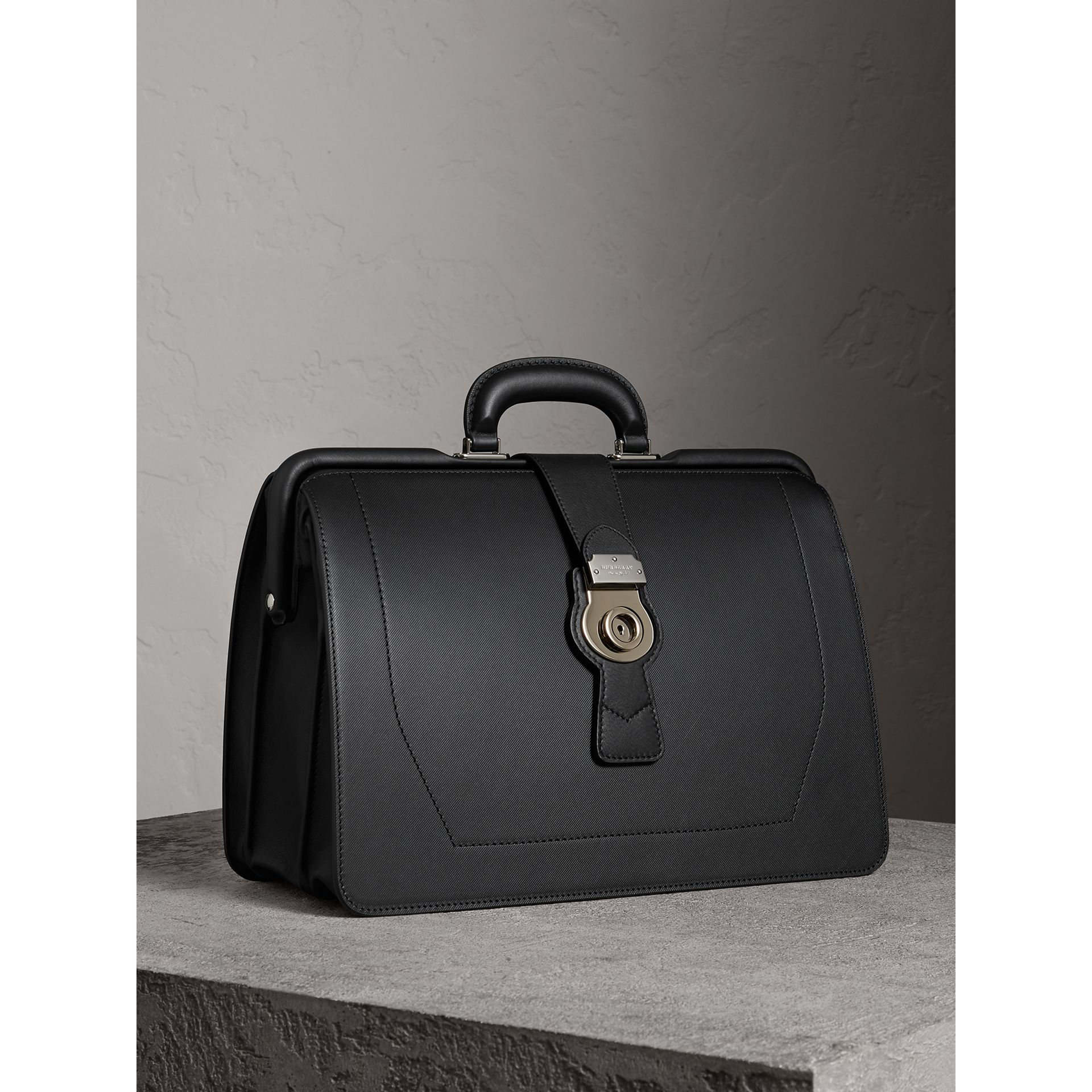 The DK88 Doctor's Bag in Black - Men | Burberry - gallery image 7