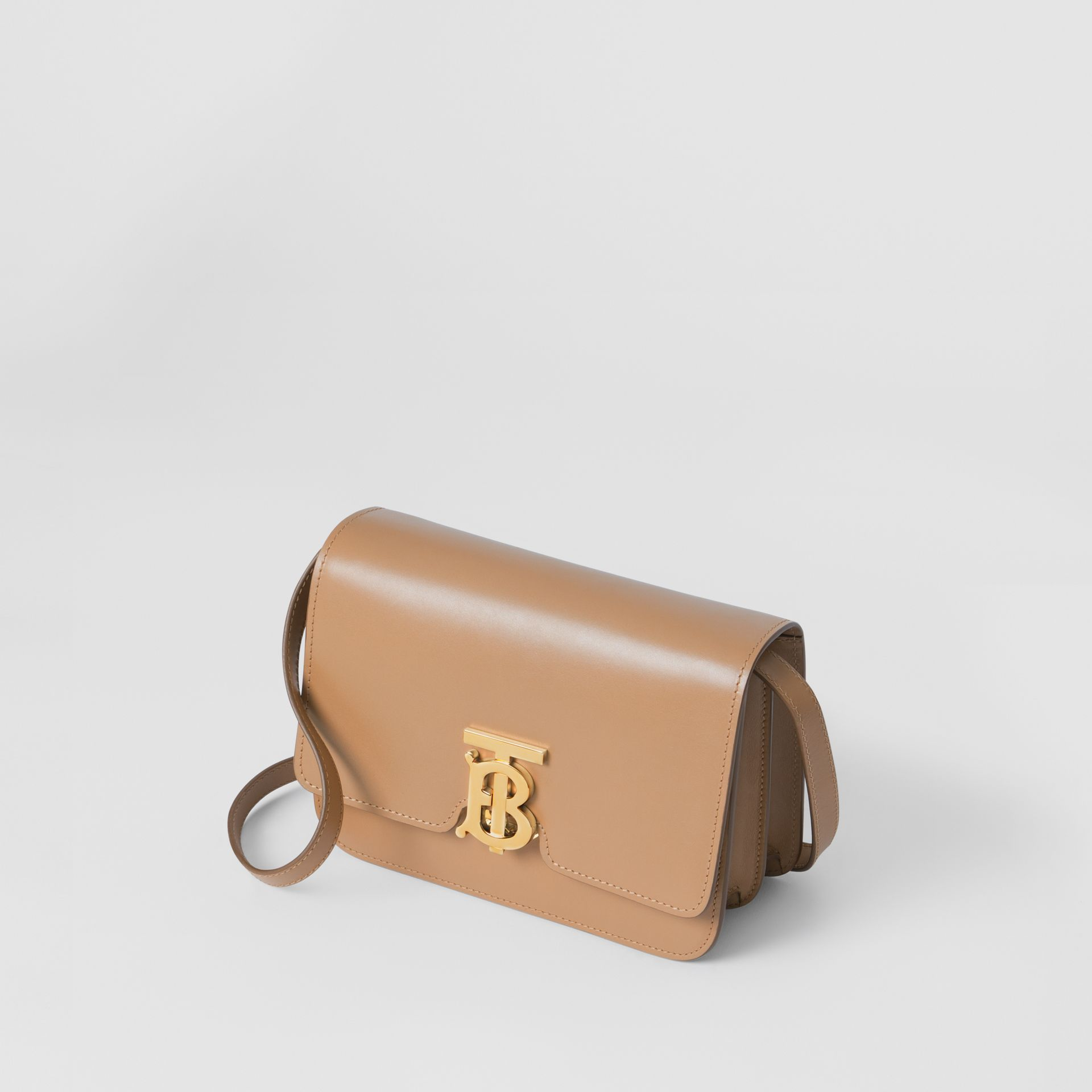 Small Leather TB Bag in Light Camel - Women | Burberry United Kingdom - gallery image 3