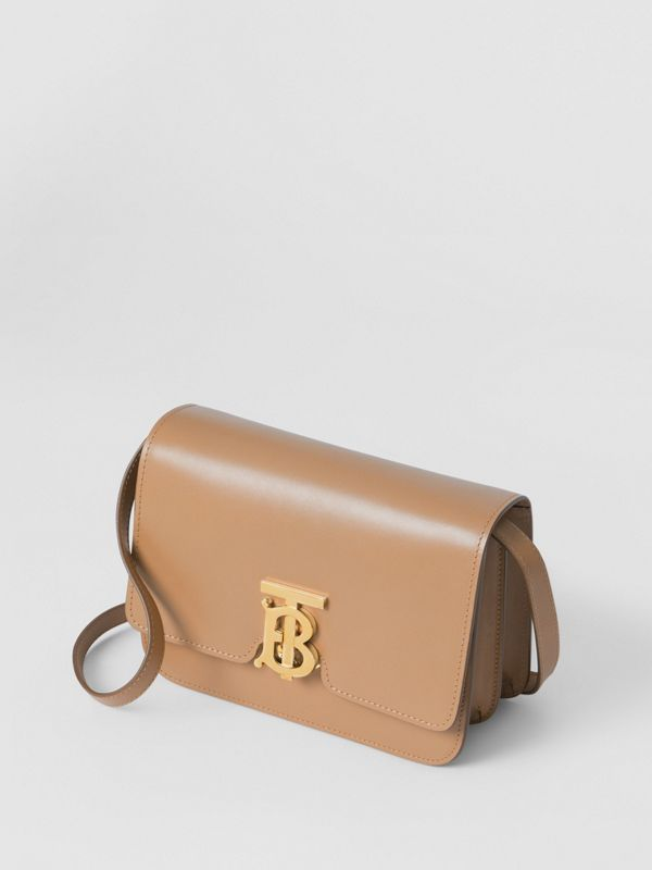 Small Leather TB Bag in Light Camel - Women | Burberry United Kingdom - cell image 3