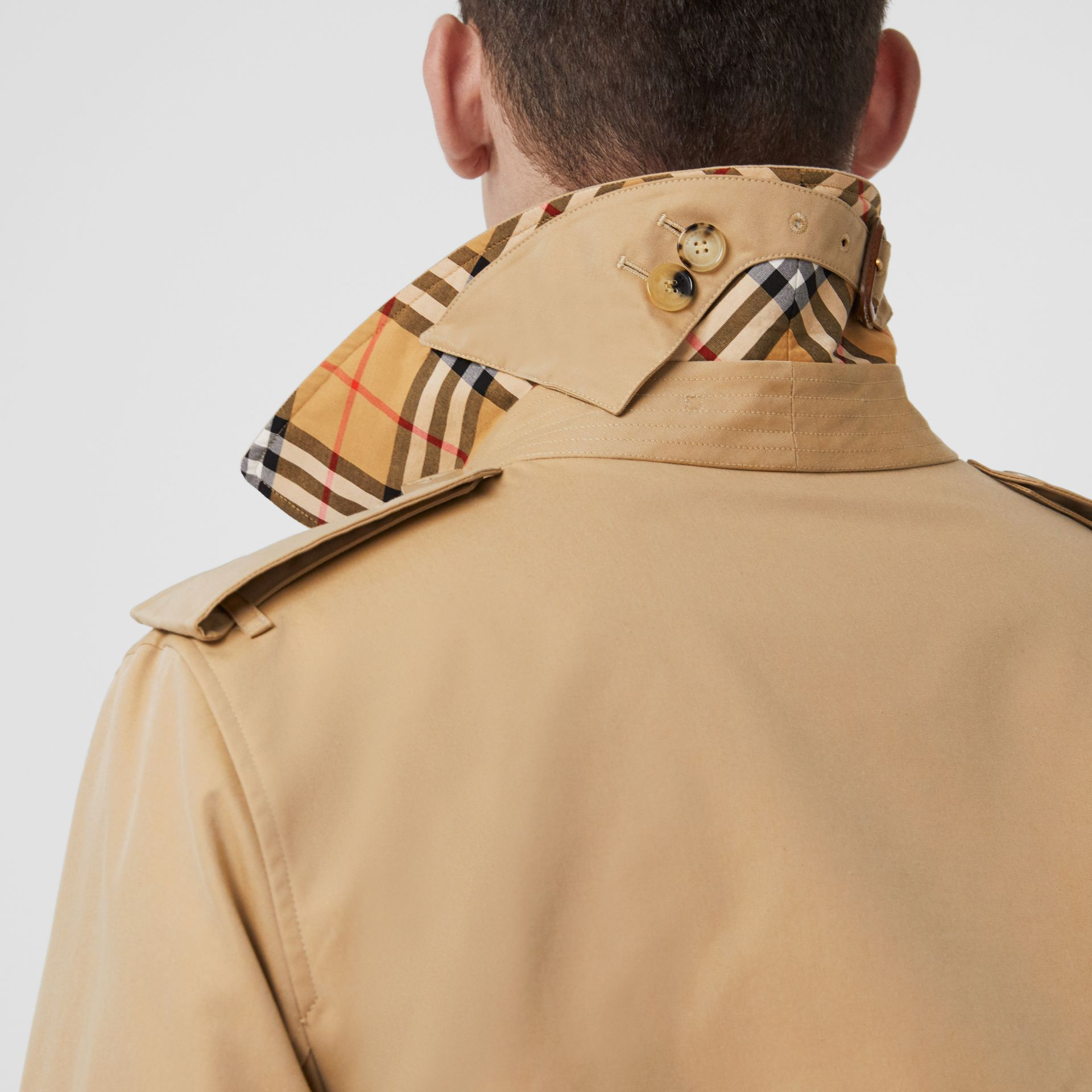 The Kensington – Trench Heritage long (Miel) - Homme | Burberry Canada - photo de la galerie 4