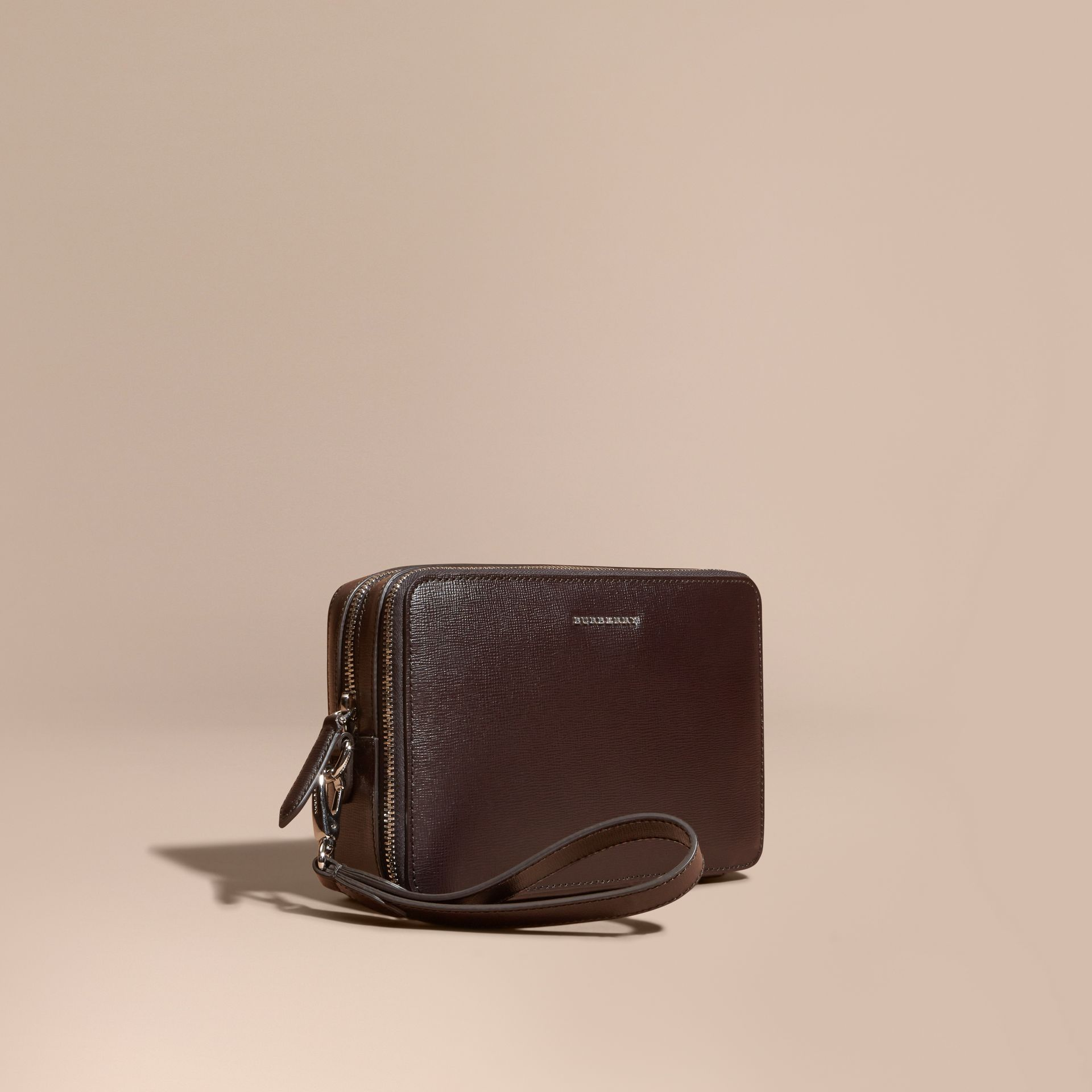 Wine London Leather Pouch - gallery image 1