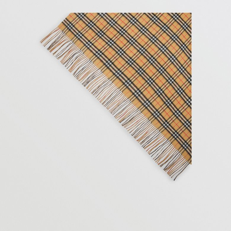 Burberry - Bandana  en cachemire à motif Vintage check - 5
