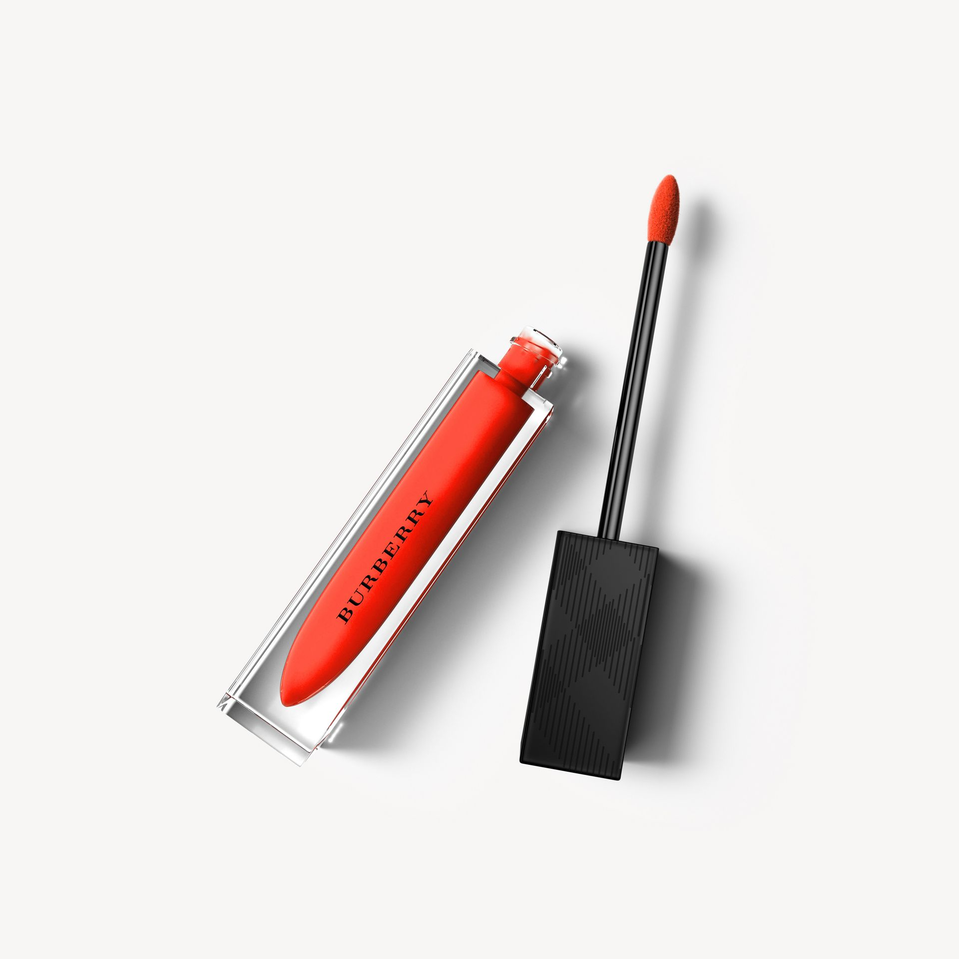 Burberry Kisses Lip Lacquer – Tangerine Red No.35 - Women | Burberry - gallery image 0