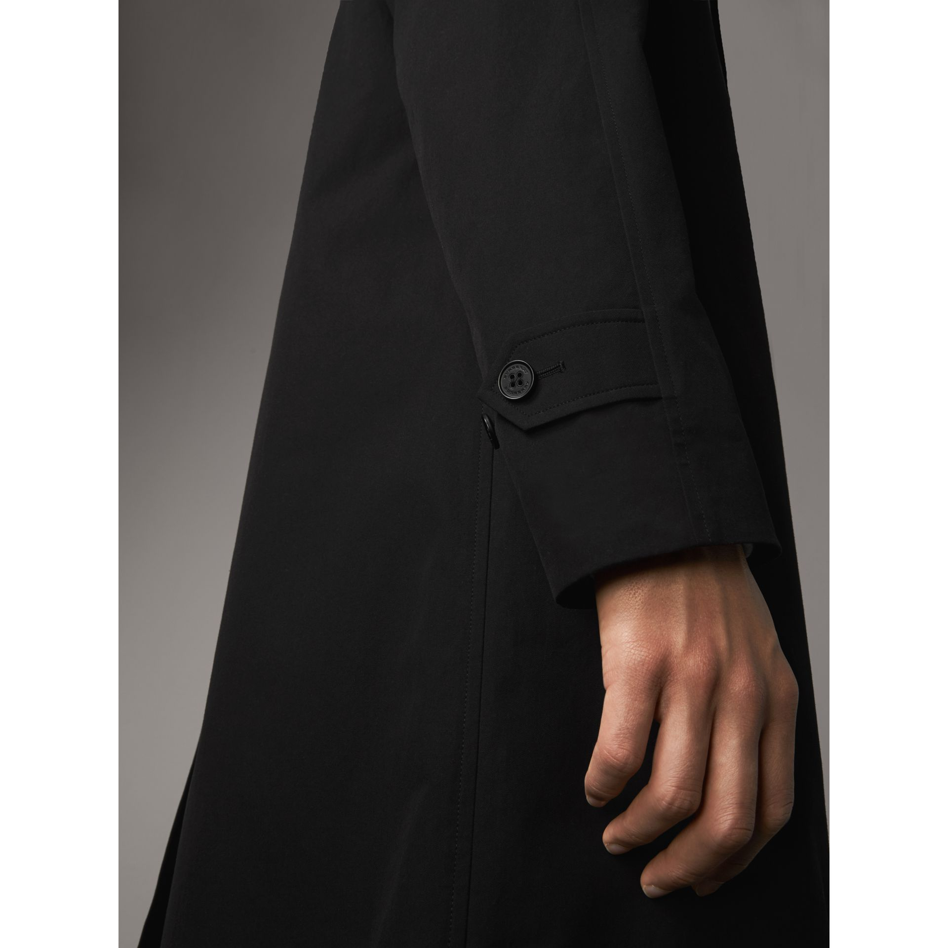 The Camden – Mid-length Car Coat in Black - Men | Burberry - gallery image 5