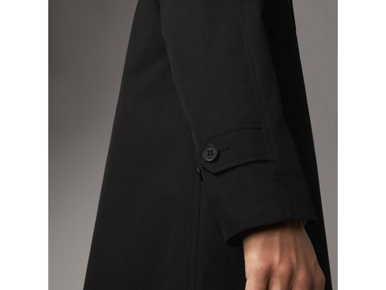 The Camden – Long Car Coat in Black - Men | Burberry - cell image 4
