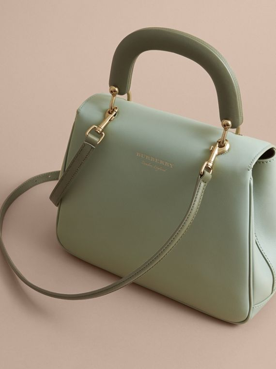 The Medium DK88 Top Handle Bag in Celadon Green - Women | Burberry - cell image 2
