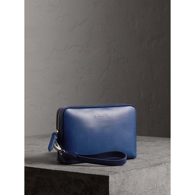 3ade594e0a blu In Burberry London Uomo Pochette Bruno Pelle tPqadnwx