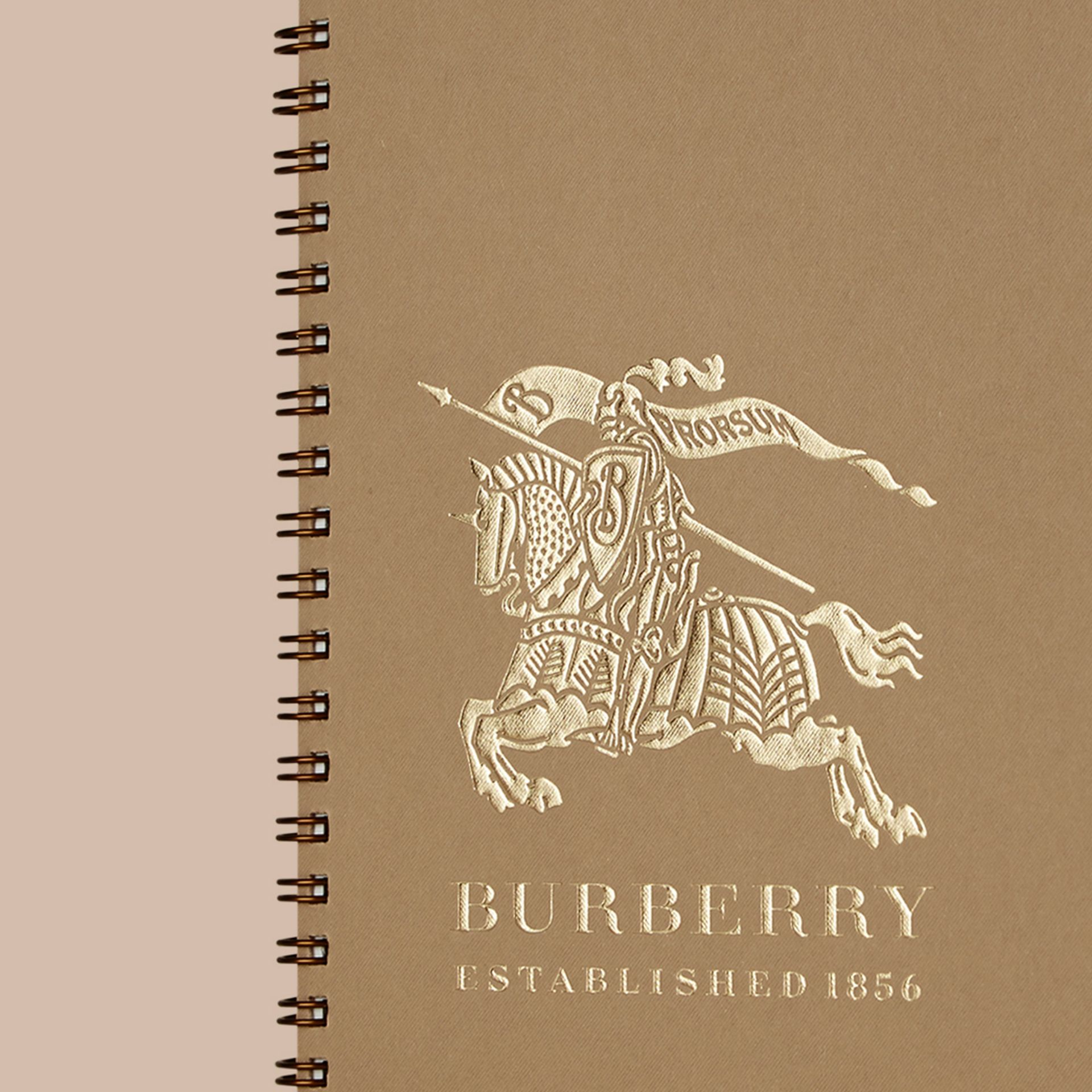 A5 Notebook Refill in Honey | Burberry - gallery image 4