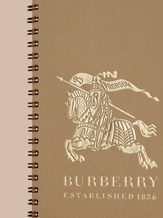 A5 Notebook Refill in Honey | Burberry - cell image 3