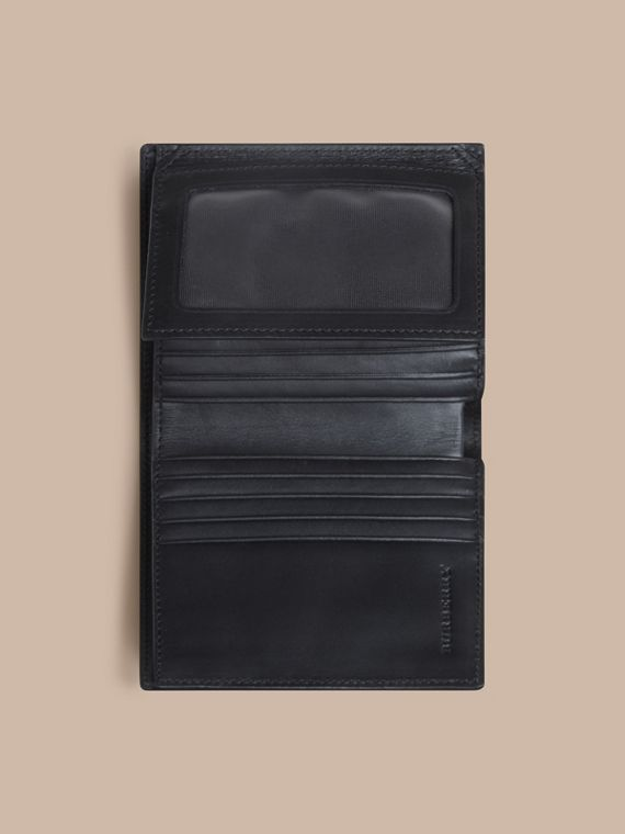 초콜릿/블랙 스모크 체크 아이디 지갑 초콜릿/블랙 - cell image 3