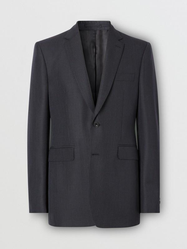 クラシックフィット パピートゥースチェック ウールモヘア スーツ (ネイビー) - メンズ | バーバリー - cell image 3