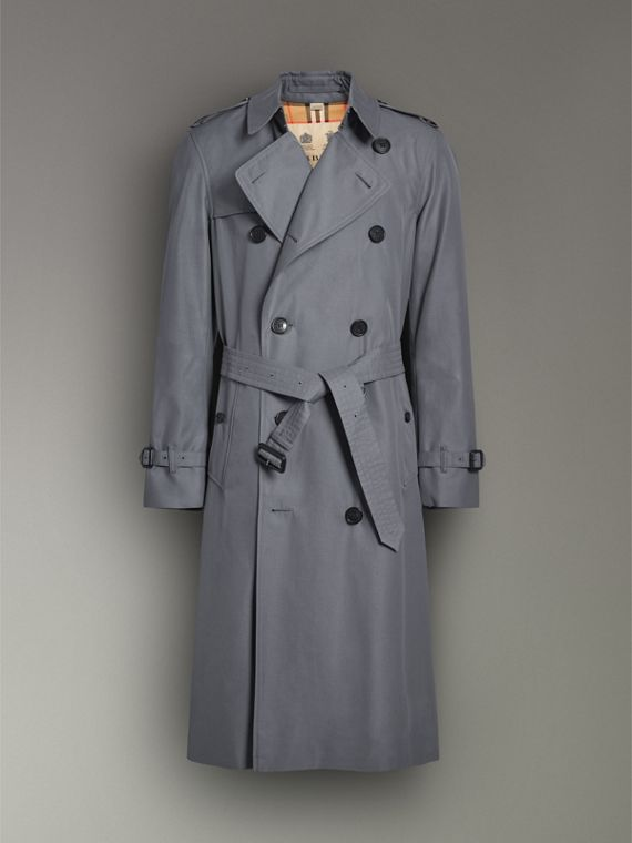 The Chelsea – Trench Heritage long (Gris Moyen) - Homme | Burberry - cell image 3
