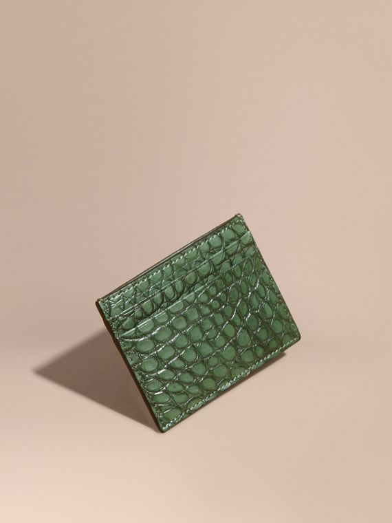 Alligator Leather Card Case