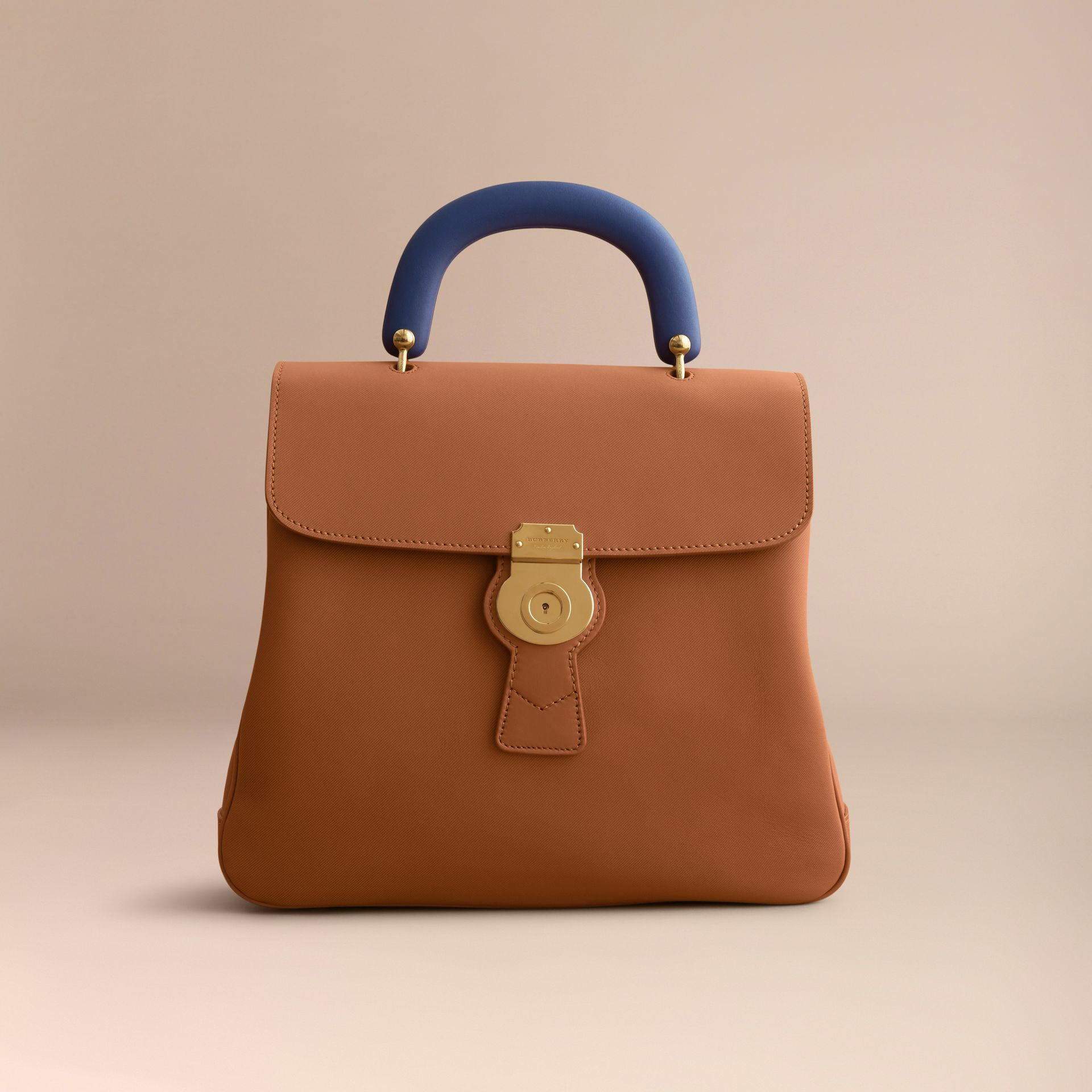 The Large DK88 Top Handle Bag in Bright Toffee - Women | Burberry - gallery image 7