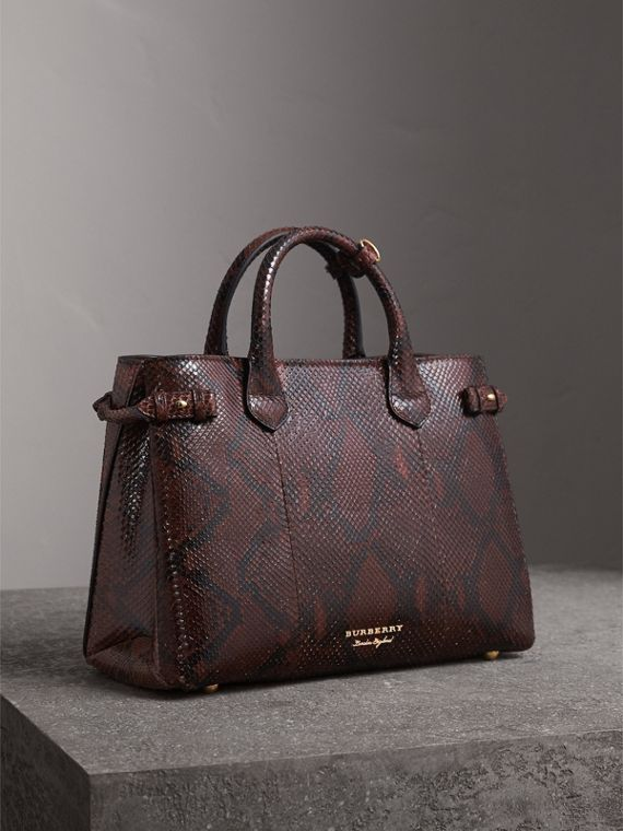Sac The Banner moyen en python (Chocolat)