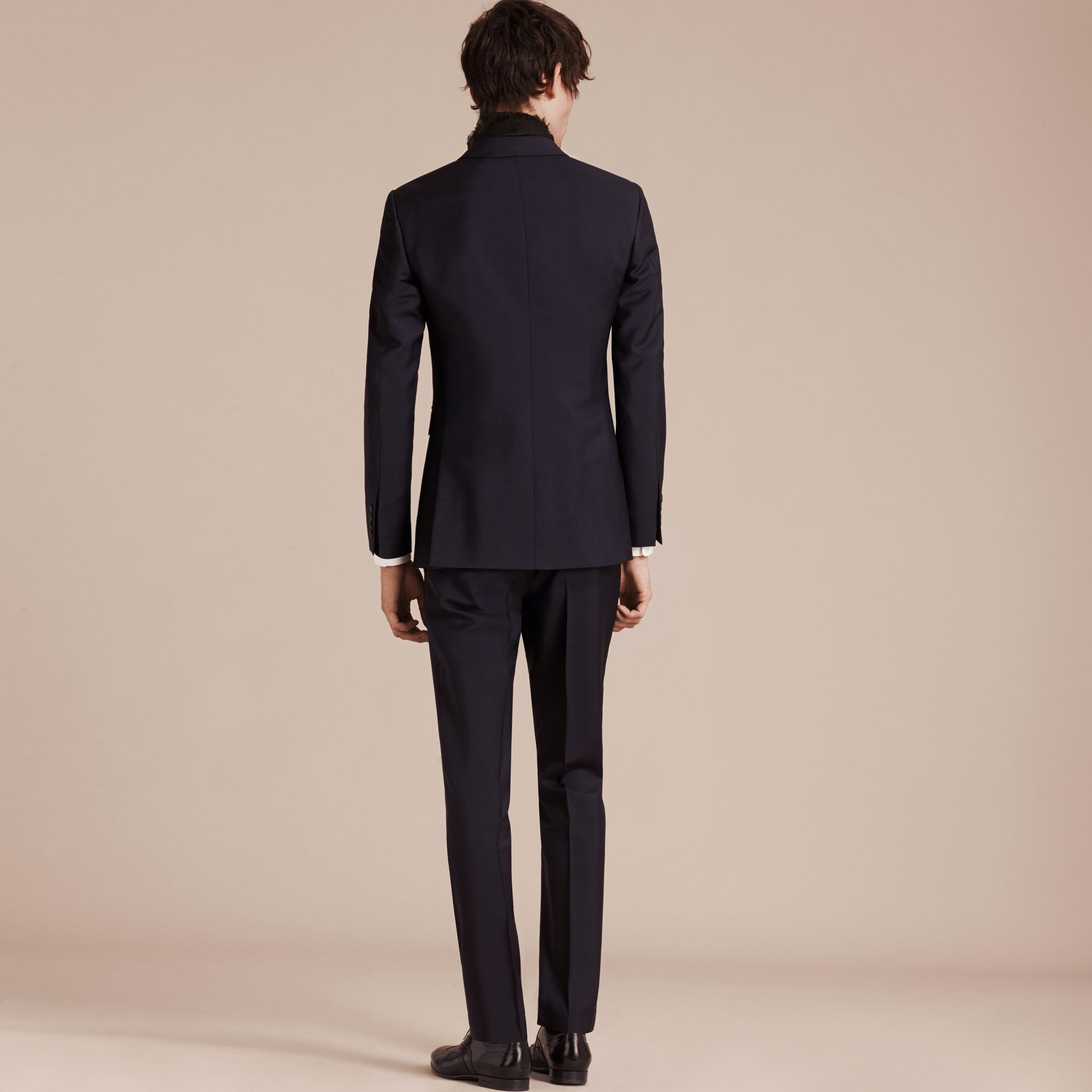 True navy The Chelsea – Slim Fit Wool Mohair Suit True Navy - gallery image 4