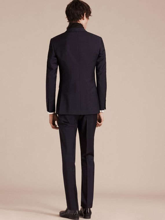 True navy The Chelsea – Slim Fit Wool Mohair Suit True Navy - cell image 3